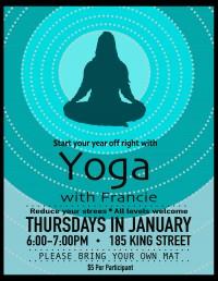 Yoga with Francia