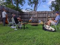 Open Acoustic Jam in the Garden