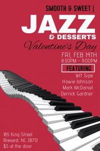 Smooth & Sweet Jazz and Desserts Valentine's Day Show