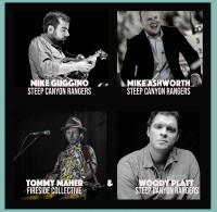 SOLD OUT: Mike Ashworth, Mike Guggino and Woody Platt of Steep Canyon Rangers with Tommy Maher of Fireside Collective